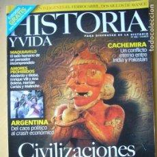 Coleccionismo de Revista Historia y Vida: HISTORIA Y VIDA Nº 408. Lote 172467045