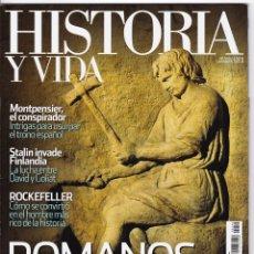 Coleccionismo de Revista Historia y Vida: HISTORIA Y VIDA Nº 540. Lote 173644302