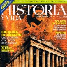 Coleccionismo de Revista Historia y Vida: HISTORIA Y VIDA Nº 411, GRECIA, LOS CIMIENTOS DE OCCIDENTE. Lote 177493577