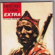 Coleccionismo de Revista Historia y Vida: REVISTA HISTORIA Y VIDA. GRANDES BATALLAS DE LA GUERRA DE ESPAÑA. Nº EXTRA 1. Lote 178082682