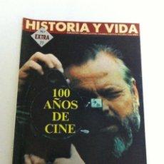Coleccionismo de Revista Historia y Vida: HISTORIA Y VIDA - EXTRA Nº. 77 - 100 AÑOS DE CINE - NUEVO. Lote 178217383