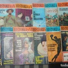 Coleccionismo de Revista Historia y Vida: LOTE DE 12 ANTIGUAS REVISTAS HISTORIA Y VIDA ,VER ESTADO Y FOTOS. Lote 178648288