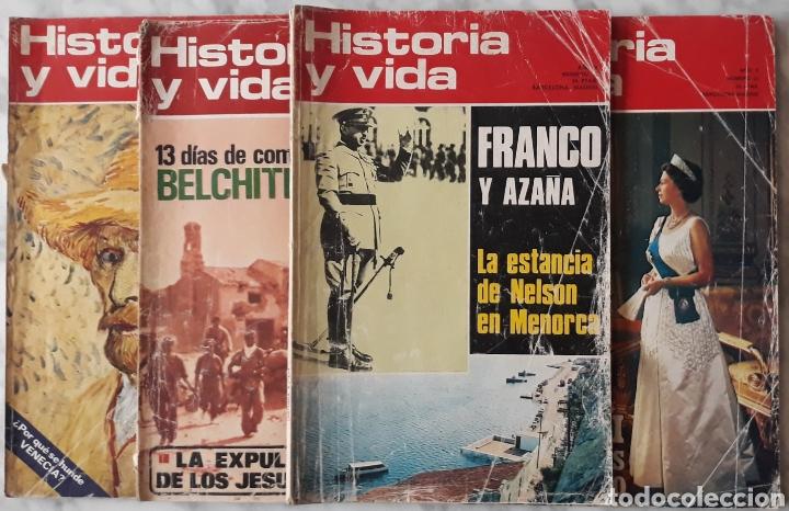 REVISTA HISTORIA Y VIDA 4U (Coleccionismo - Revistas y Periódicos Modernos (a partir de 1.940) - Revista Historia y Vida)