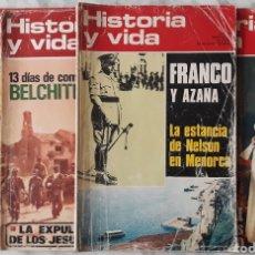 Coleccionismo de Revista Historia y Vida: REVISTA HISTORIA Y VIDA 4U. Lote 179134502