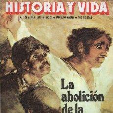 Coleccionismo de Revista Historia y Vida: == H06 - TIEMPO DE HISTORIA Nº 124. Lote 179386787