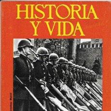 Coleccionismo de Revista Historia y Vida: == H09 - TIEMPO DE HISTORIA Nº 92. Lote 179388281