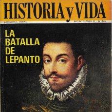 Coleccionismo de Revista Historia y Vida: == H10 - TIEMPO DE HISTORIA Nº 41. Lote 179388476