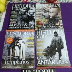 Coleccionismo de Revista Historia y Vida: LOTE REVISTAS HISTORIA Y VIDA. 410 448 538 540 562. Lote 180857678