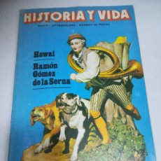 Coleccionismo de Revista Historia y Vida: REVISTA. HISTORIA Y VIDA. Nº 164. HAWAI / RAMON GOMEZ DE LA SERNA. LA HISTORIA DE LA CAZA. Lote 181553697