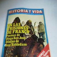 Coleccionismo de Revista Historia y Vida: REVISTA. HISTORIA Y VIDA. Nº 131. EN LAS PRISIONES DE FRANCO. POEMAS DE DIEGO SAN JOSE. Lote 181553826