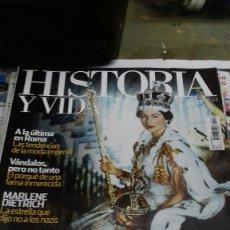 Coleccionismo de Revista Historia y Vida: HISTORIA Y VIDA. 518. WINDSOR. Lote 183585075