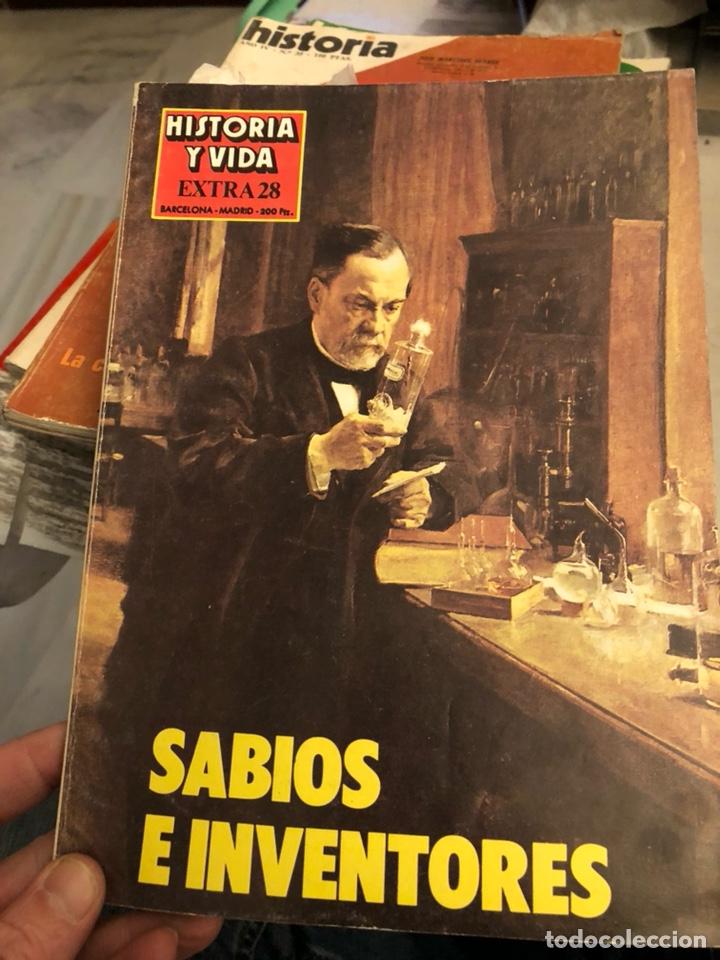 Coleccionismo de Revista Historia y Vida: Lote de revistas historia y 2 extras de historia y vida , 10 en total - Foto 3 - 189590660
