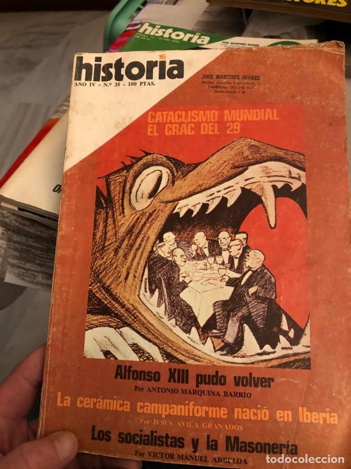 Coleccionismo de Revista Historia y Vida: Lote de revistas historia y 2 extras de historia y vida , 10 en total - Foto 4 - 189590660
