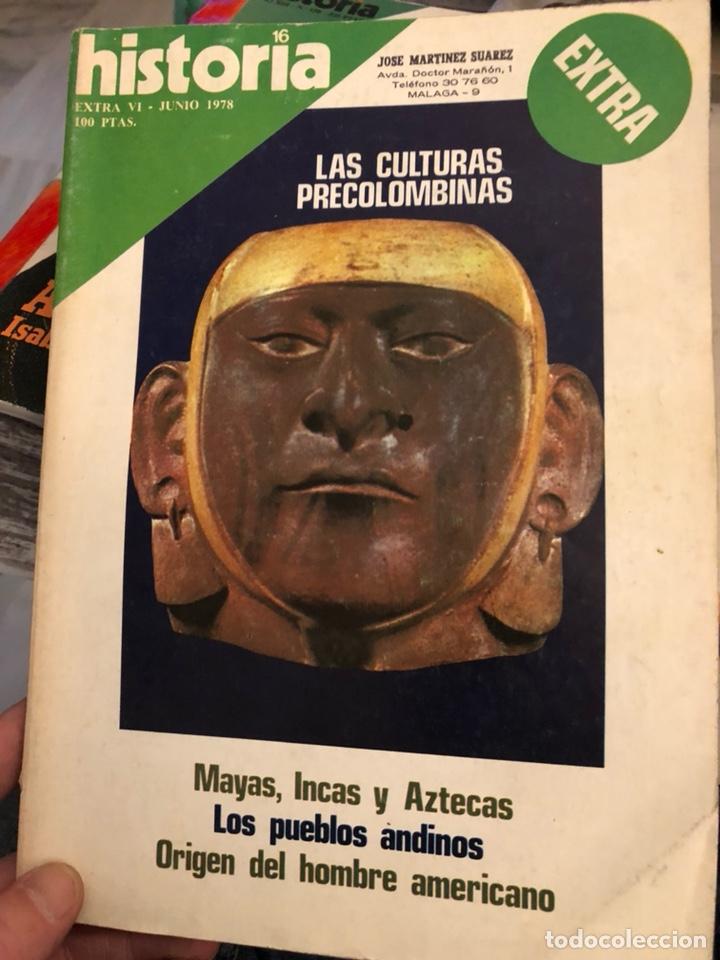 Coleccionismo de Revista Historia y Vida: Lote de revistas historia y 2 extras de historia y vida , 10 en total - Foto 5 - 189590660