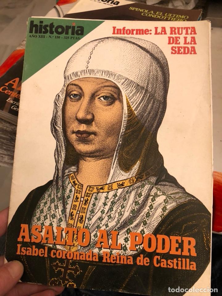 Coleccionismo de Revista Historia y Vida: Lote de revistas historia y 2 extras de historia y vida , 10 en total - Foto 6 - 189590660