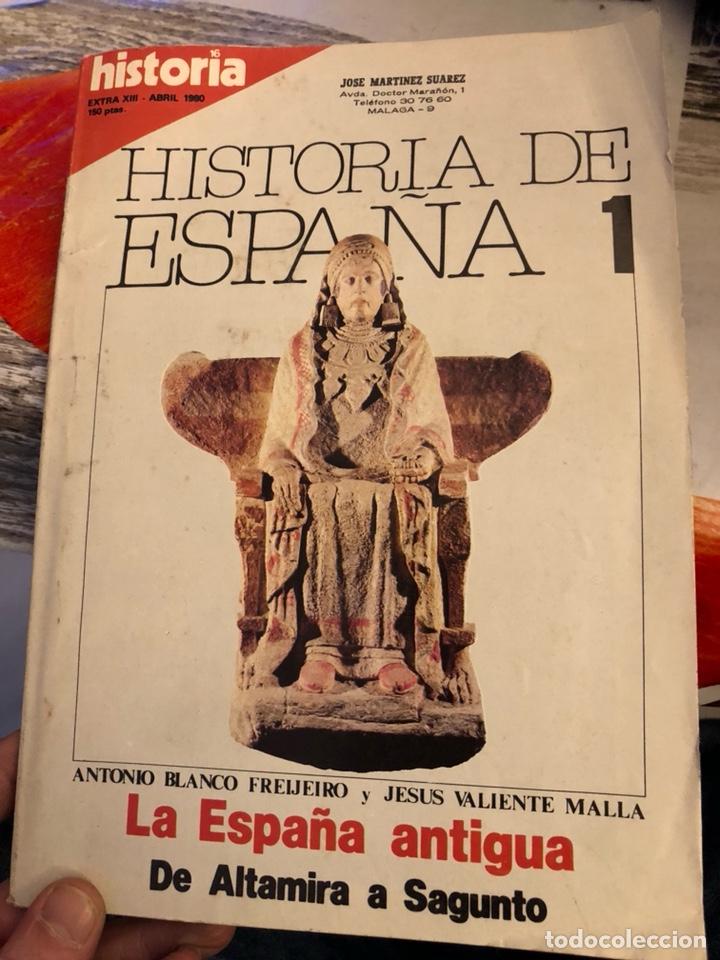 Coleccionismo de Revista Historia y Vida: Lote de revistas historia y 2 extras de historia y vida , 10 en total - Foto 11 - 189590660
