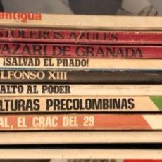 Coleccionismo de Revista Historia y Vida: LOTE DE REVISTAS HISTORIA Y 2 EXTRAS DE HISTORIA Y VIDA , 10 EN TOTAL. Lote 189590660