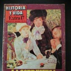 Coleccionismo de Revista Historia y Vida: LA SOBREMESA EN LA HISTORIA. CAFÉ Y TÉ. LICORES.TABACO.. Lote 191098715
