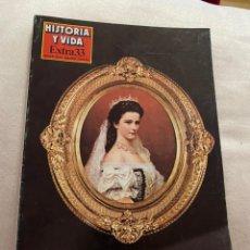 Coleccionismo de Revista Historia y Vida: HISTORIA Y VIDA EXTRA NÚMERO 33 VIENA. Lote 191747938