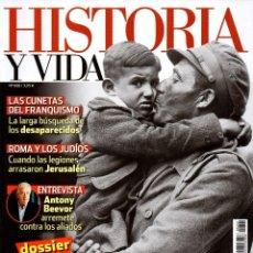 Coleccionismo de Revista Historia y Vida: HISTORIA Y VIDA N. 608 - EN PORTADA: LA PRIMERA OLEADA DE REFUGIADOS (NUEVA). Lote 218611158