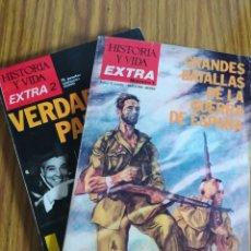 Coleccionismo de Revista Historia y Vida: HISTORIA Y VIDA, EXTRA NÚMERO 1 Y EXTRA 2, LOTE 10 €. SUELTAS 5.95 €.. Lote 195630311