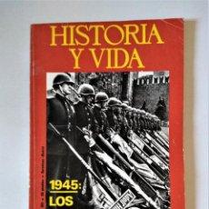 Colecionismo da Revista Historia y Vida: HISTORIA Y VIDA Nº 92   NOVIEMBRE 1975   GACETA ILUSTRADA 1975. Lote 198281992