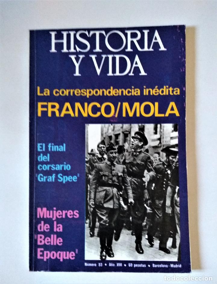 HISTORIA Y VIDA Nº 93 | DICIEMBRE 1975 | GACETA ILUSTRADA 1975 (Coleccionismo - Revistas y Periódicos Modernos (a partir de 1.940) - Revista Historia y Vida)