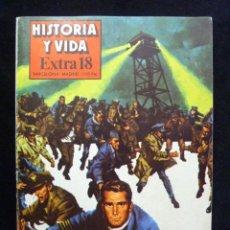 Coleccionismo de Revista Historia y Vida: HISTORIA Y VIDA. EXTRA 18, CÁRCELES Y EVASIONES. 1980. Lote 199408517