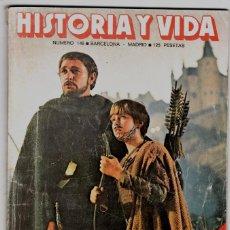 Coleccionismo de Revista Historia y Vida: HISTORIA Y VIDA Nº 148 - EL REY ARTURO - LOS SUBMARINOS DEL ALMIRANTE DOENITZ. Lote 200608482