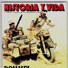 Coleccionismo de Revista Historia y Vida: HISTORIA Y VIDA Nº 122 . ROMMEL, EL ZORRO DEL DESIERTOVII. ATENAS. Lote 200613028