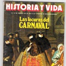 Coleccionismo de Revista Historia y Vida: HISTORIA Y VIDA 119. CARNAVAL. ORIGENES DEL FEMINISMO. HIJOS DE HITLER. LA MALDICION DEL FARAON. Lote 200617811