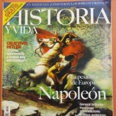 Colecionismo da Revista Historia y Vida: HISTORIA Y VIDA. LA PESADILLA DE EUROPA NAPOLEÓN. Nº406 AÑO XXXIII. Lote 202560917