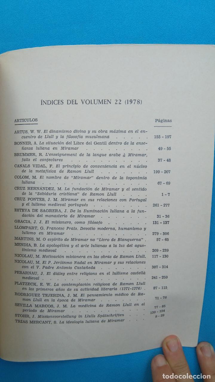 Coleccionismo de Revista Historia y Vida: Estudios Lulíanos - Miramar en la vida y en la obra de Ramón Llull - Foto 2 - 202895407