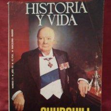 Coleccionismo de Revista Historia y Vida: REVISTA HISTORIA Y VIDA Nº 79 AÑO VII DE OCTUBRE DE 1974. CHURCHILL.. Lote 202909336