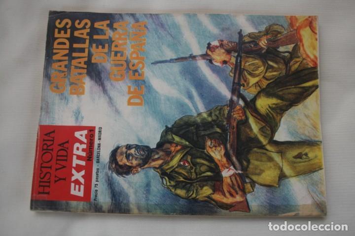 Coleccionismo de Revista Historia y Vida: REVISTA COLECCIONABLE HISTORIA Y VIDA EXTRA DEL Nº 1 AL Nº 29 - BARCELONA MADRID – 29 EJEMPLARES - Foto 2 - 204078701