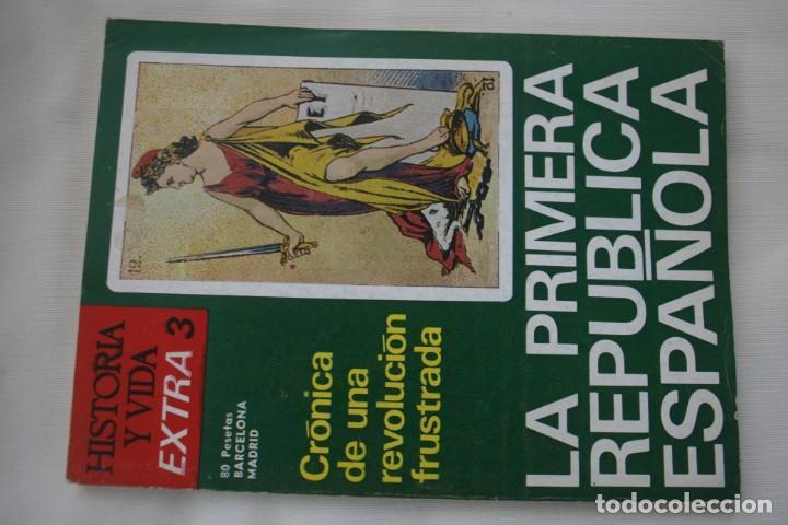 Coleccionismo de Revista Historia y Vida: REVISTA COLECCIONABLE HISTORIA Y VIDA EXTRA DEL Nº 1 AL Nº 29 - BARCELONA MADRID – 29 EJEMPLARES - Foto 4 - 204078701