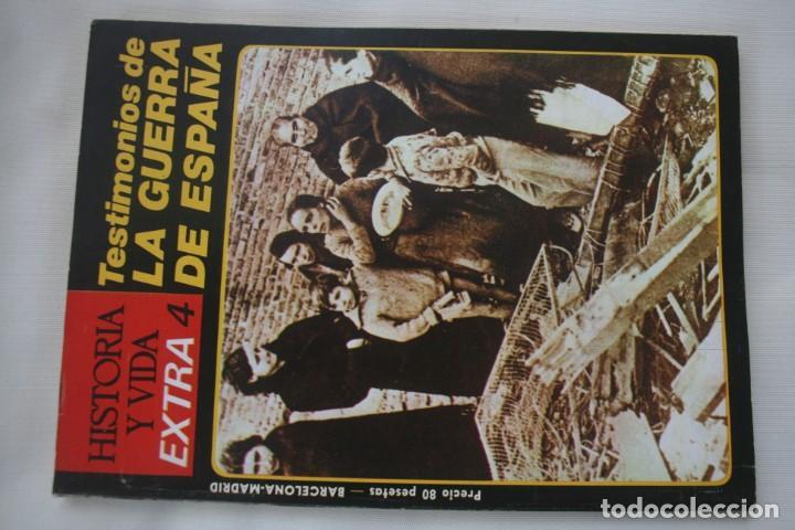 Coleccionismo de Revista Historia y Vida: REVISTA COLECCIONABLE HISTORIA Y VIDA EXTRA DEL Nº 1 AL Nº 29 - BARCELONA MADRID – 29 EJEMPLARES - Foto 5 - 204078701