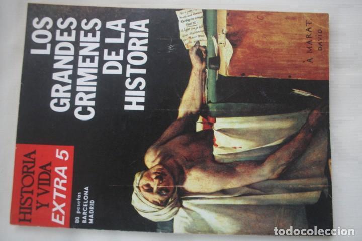 Coleccionismo de Revista Historia y Vida: REVISTA COLECCIONABLE HISTORIA Y VIDA EXTRA DEL Nº 1 AL Nº 29 - BARCELONA MADRID – 29 EJEMPLARES - Foto 6 - 204078701