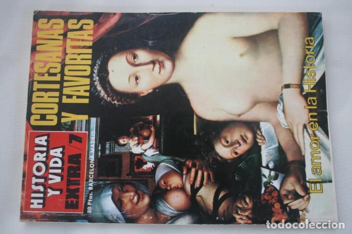 Coleccionismo de Revista Historia y Vida: REVISTA COLECCIONABLE HISTORIA Y VIDA EXTRA DEL Nº 1 AL Nº 29 - BARCELONA MADRID – 29 EJEMPLARES - Foto 8 - 204078701