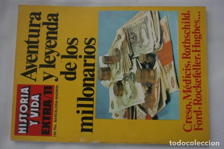 Coleccionismo de Revista Historia y Vida: REVISTA COLECCIONABLE HISTORIA Y VIDA EXTRA DEL Nº 1 AL Nº 29 - BARCELONA MADRID – 29 EJEMPLARES - Foto 12 - 204078701