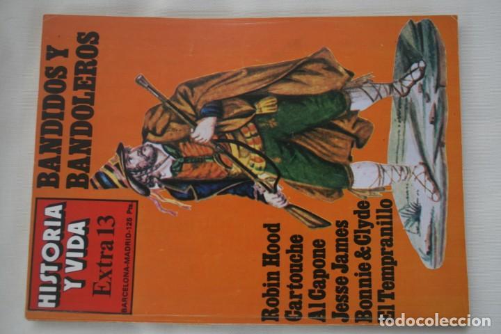 Coleccionismo de Revista Historia y Vida: REVISTA COLECCIONABLE HISTORIA Y VIDA EXTRA DEL Nº 1 AL Nº 29 - BARCELONA MADRID – 29 EJEMPLARES - Foto 14 - 204078701