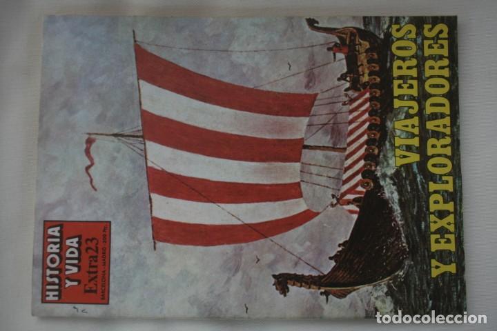 Coleccionismo de Revista Historia y Vida: REVISTA COLECCIONABLE HISTORIA Y VIDA EXTRA DEL Nº 1 AL Nº 29 - BARCELONA MADRID – 29 EJEMPLARES - Foto 24 - 204078701