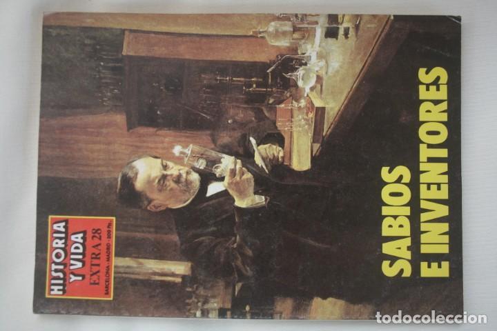 Coleccionismo de Revista Historia y Vida: REVISTA COLECCIONABLE HISTORIA Y VIDA EXTRA DEL Nº 1 AL Nº 29 - BARCELONA MADRID – 29 EJEMPLARES - Foto 29 - 204078701