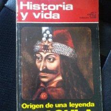 Colecionismo da Revista Historia y Vida: HISTORIA Y VIDA. ORIGEN DE UNA LEYENDA. DRACULA. Nº 60. MARZO 1970. Lote 204822807