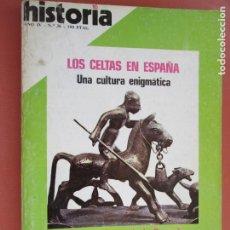 Coleccionismo de Revista Historia y Vida: HISTORIA REVISTA Nº 36 - ABRIL 1975 - LOS CELTAS EN ESPAÑA , LOS FINANCIEROS DE LA CRUZADA. Lote 205038135