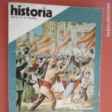 Coleccionismo de Revista Historia y Vida: HISTORIA REVISTA Nº 59 - MARZO 1981 - SIGLO XIX VIVIR EN MADRID , LOS CIRUJANOS INCAS. Lote 205039072
