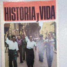 Coleccionismo de Revista Historia y Vida: HISTORIA Y VIDA-N°0,JUNIO, 1967,EN PERFECTO ESTADO. Lote 205101583