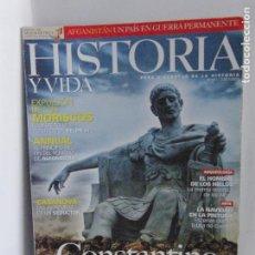Colecionismo da Revista Historia y Vida: HISTORIA Y VIDA - CONSTANTINO - Nº441. Lote 209115343