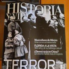 Coleccionismo de Revista Historia y Vida: HISTORIA Y VIDA 544. TERROR DESDE EL AIRE. Lote 209562210