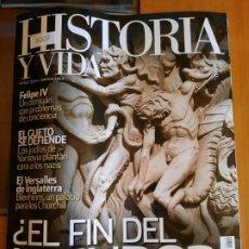Coleccionismo de Revista Historia y Vida: HISTORIA Y VIDA 546. ¿EL FIN DEL MUNDO?. Lote 209562958